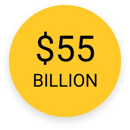 55 billion dollars icon