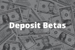 Deposit beta