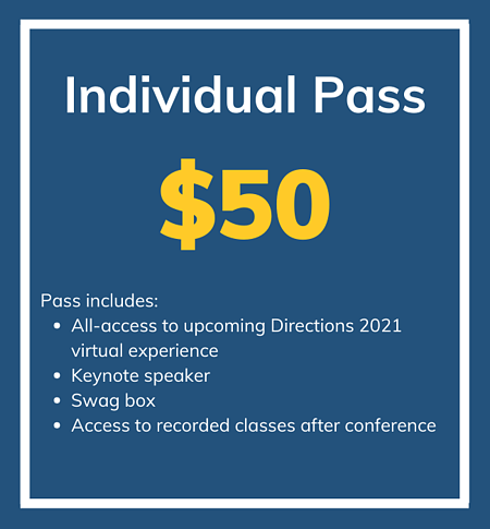 Individual Pass $50 Directions 2021