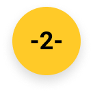 Number 2 issue or error icon