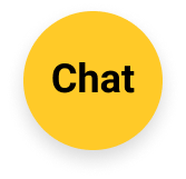 Yellow circle chat icon