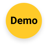 Yellow circle demo icon