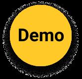 Yellow circle demo icon