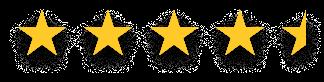 Gold Stars 4.5