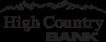 High Country Bank logo
